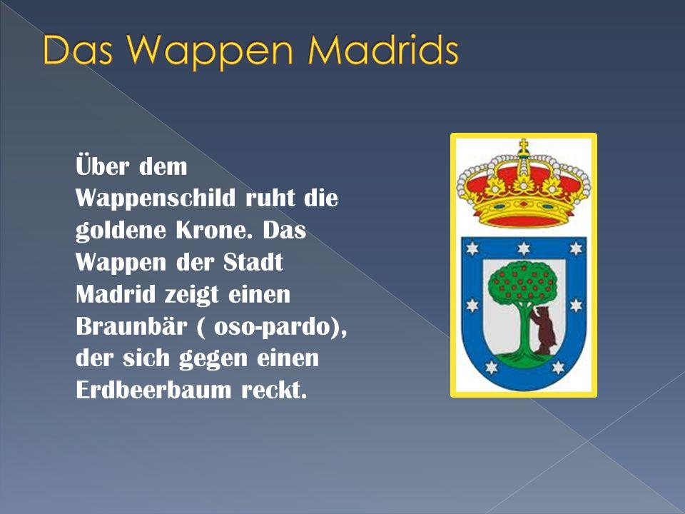 Das Wappen Madrids