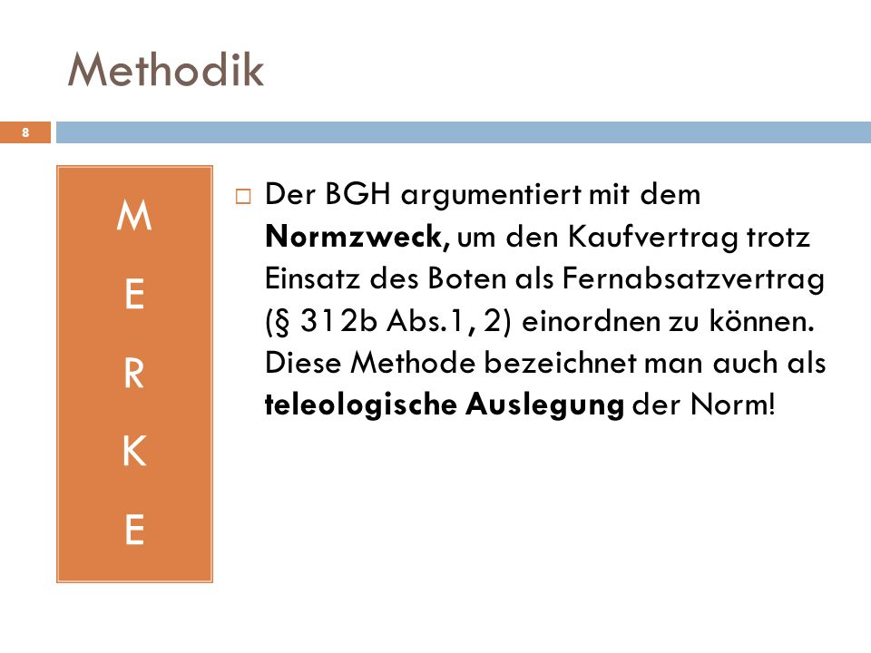 Methodik M. E. R. K.