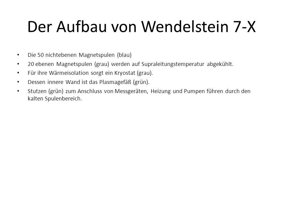 Der Aufbau von Wendelstein 7-X