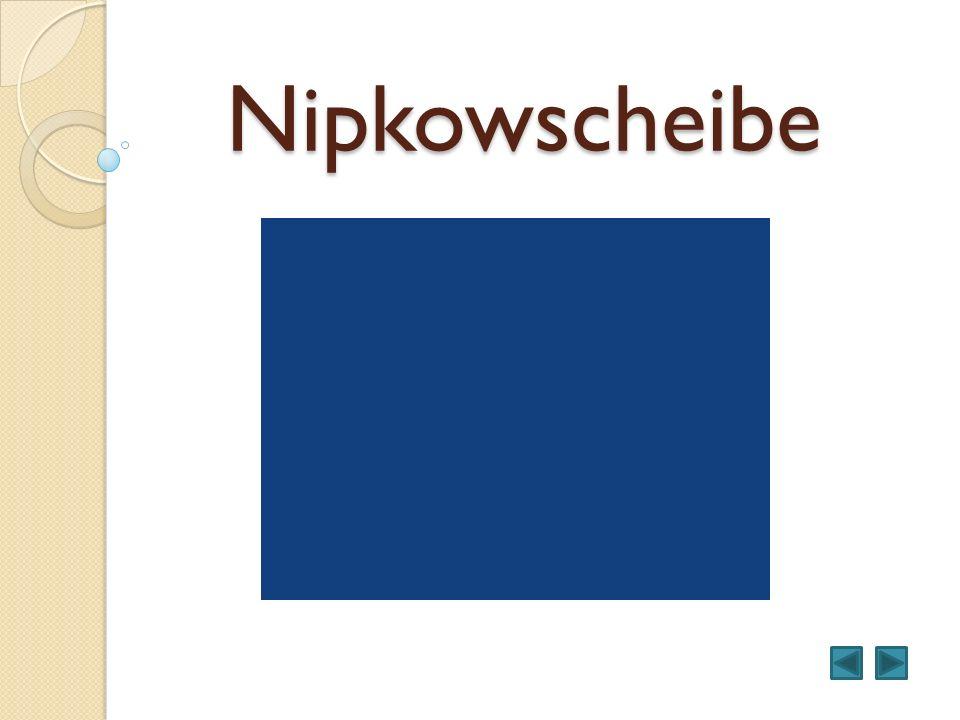 Nipkowscheibe
