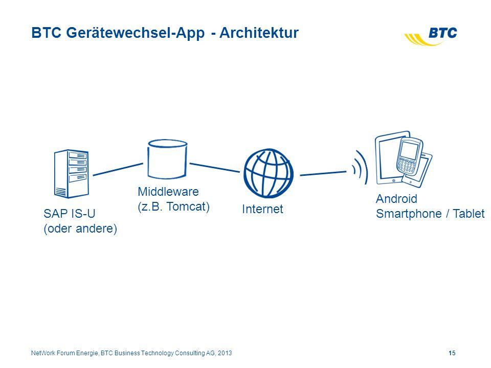 BTC Gerätewechsel-App - Architektur