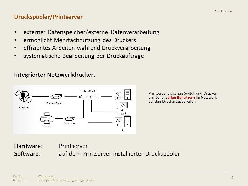 Druckspooler/Printserver