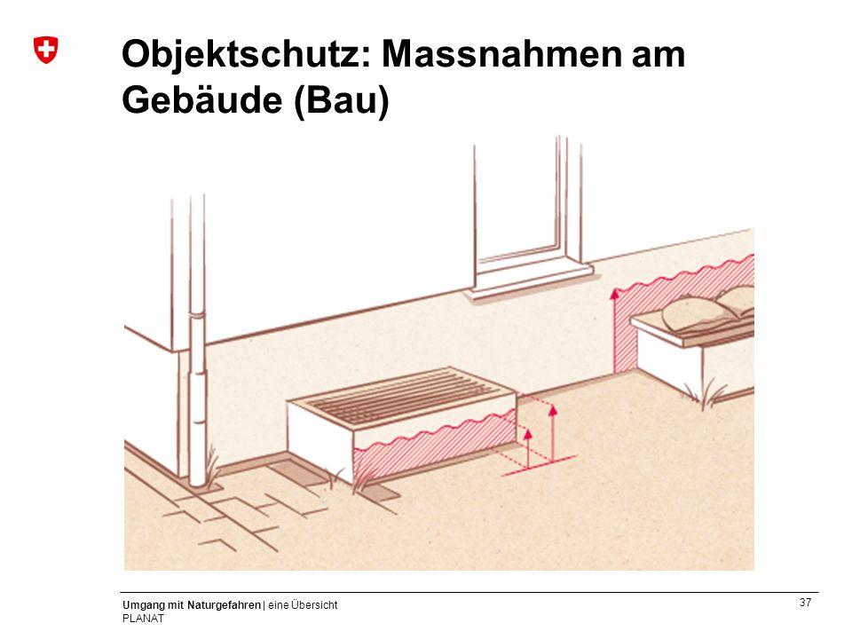 Objektschutz: Massnahmen am Gebäude (Bau)