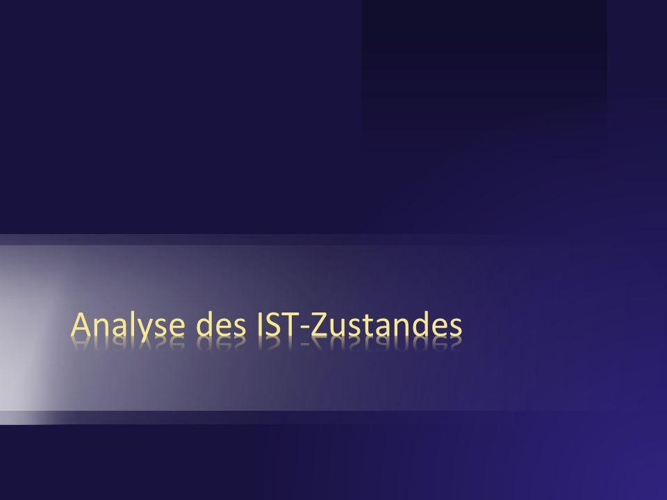 Analyse des IST-Zustandes