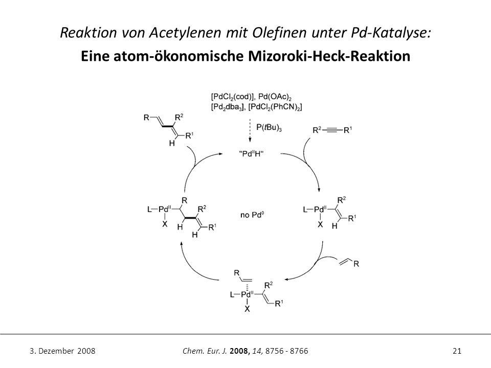 Eine atom-ökonomische Mizoroki-Heck-Reaktion
