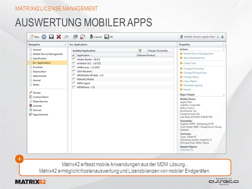 Auswertung mobiler Apps