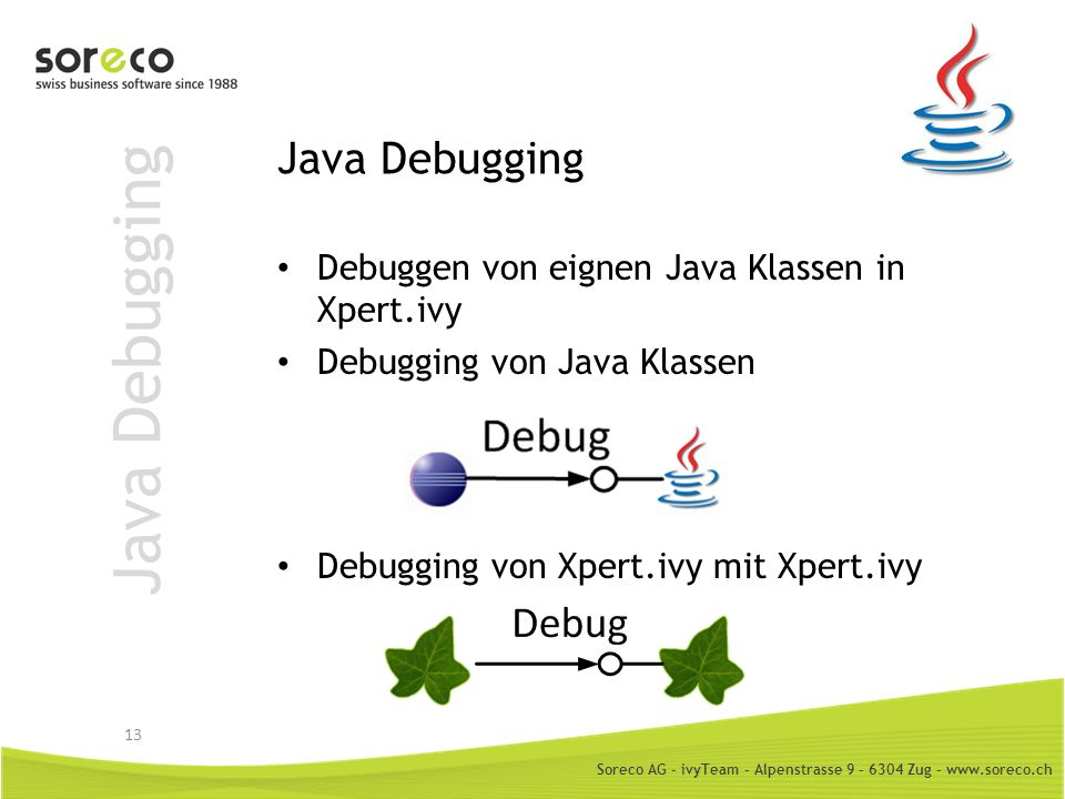 Java Debugging Java Debugging