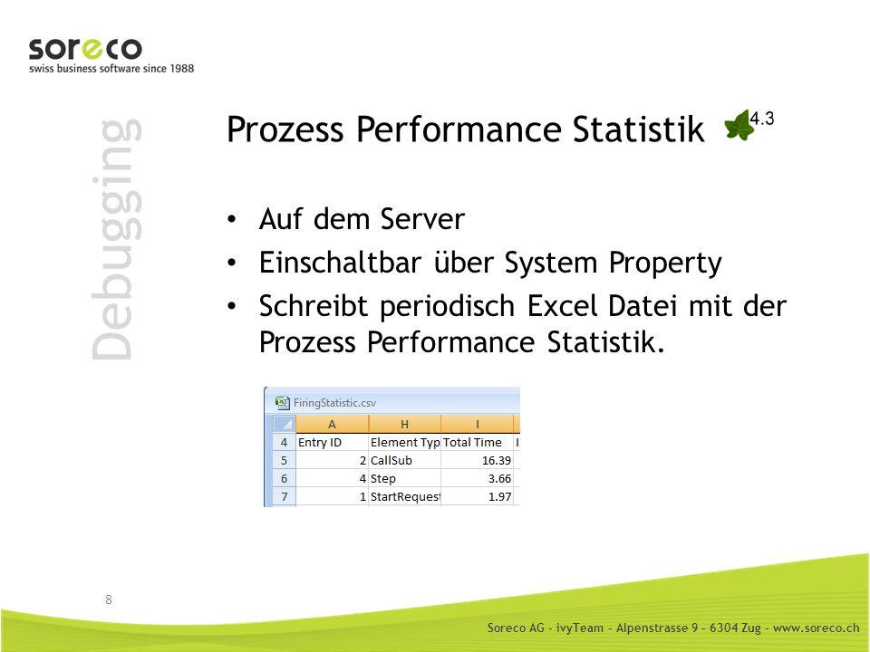 Prozess Performance Statistik