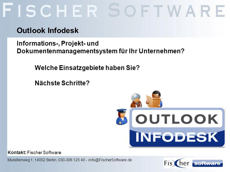 Outlook Infodesk Informations-, Projekt- und