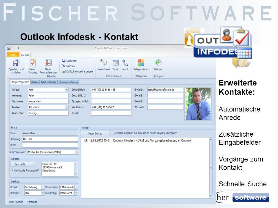 Outlook Infodesk - Kontakt