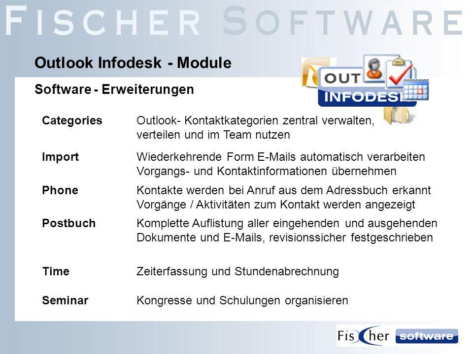 Outlook Infodesk - Module