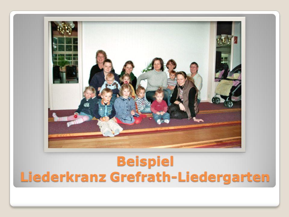 Beispiel Liederkranz Grefrath-Liedergarten
