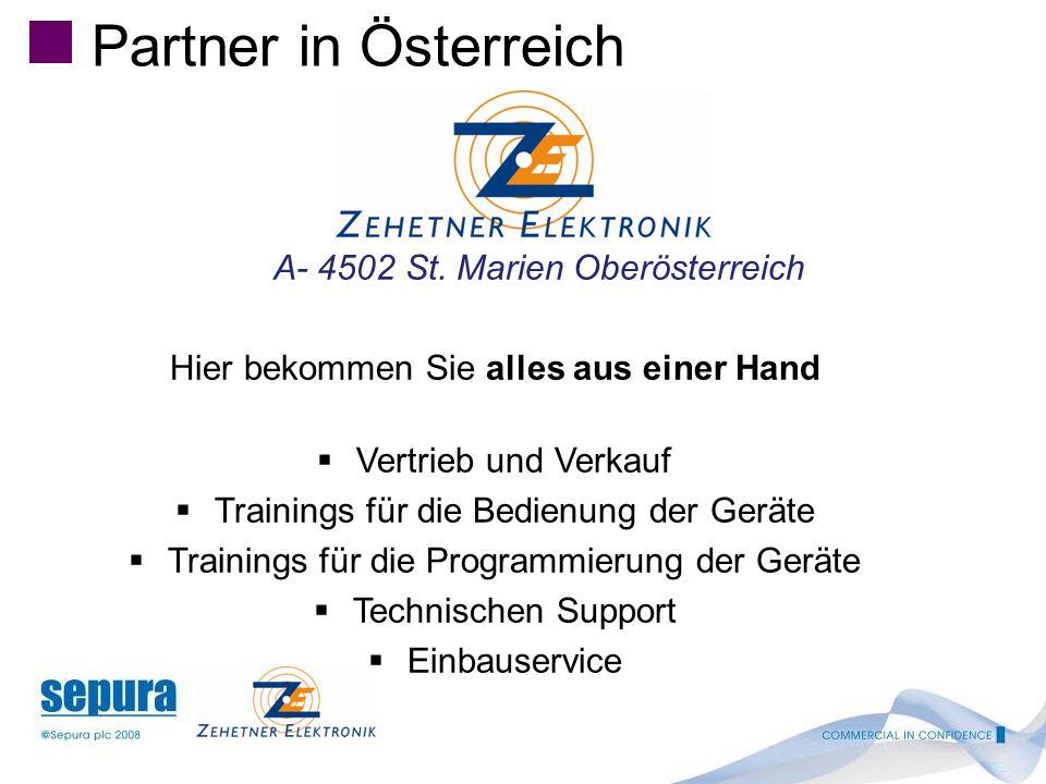 Partner in Österreich Hier bekommen Sie alles aus einer Hand