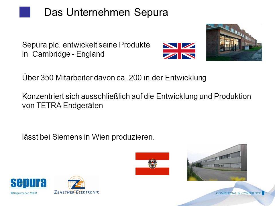 Das Unternehmen Sepura