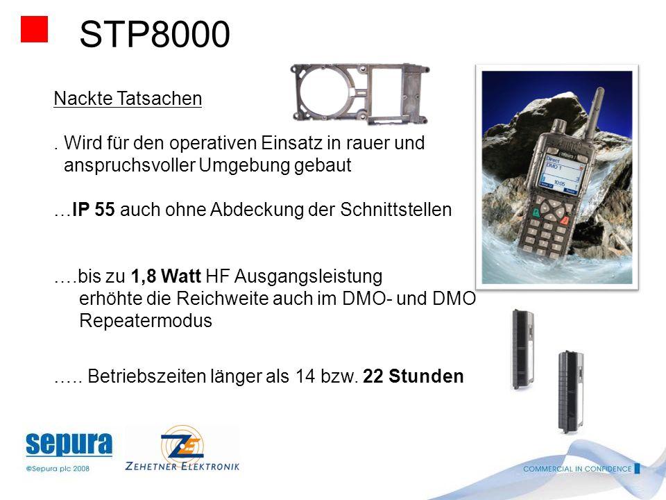 STP8000 Nackte Tatsachen. . Wird für den operativen Einsatz in rauer und. anspruchsvoller Umgebung gebaut.