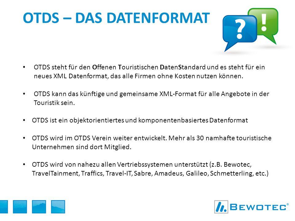 OTDS – Das datenformat