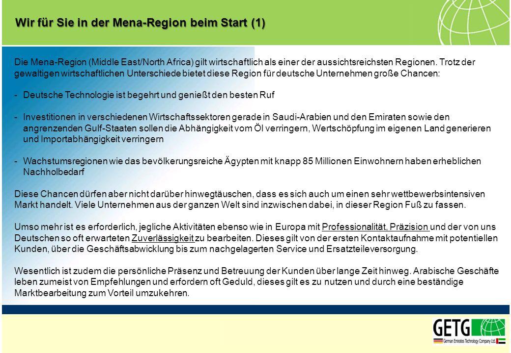 Wir für Sie in der Mena-Region beim Start (1)