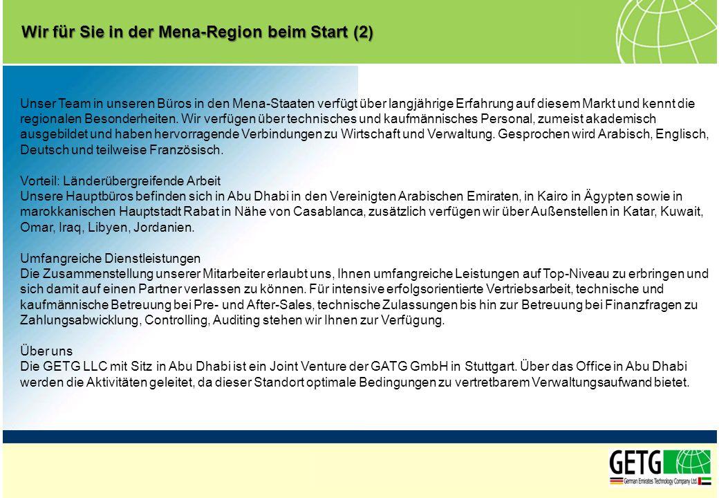 Wir für Sie in der Mena-Region beim Start (2)