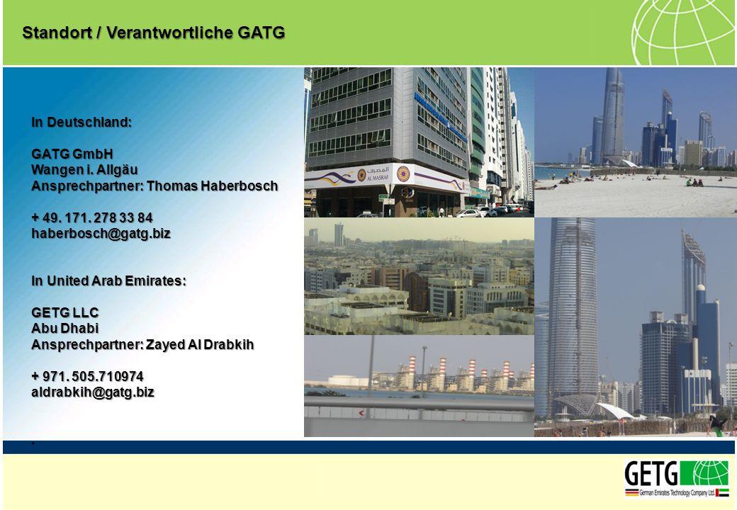 Standort / Verantwortliche GATG