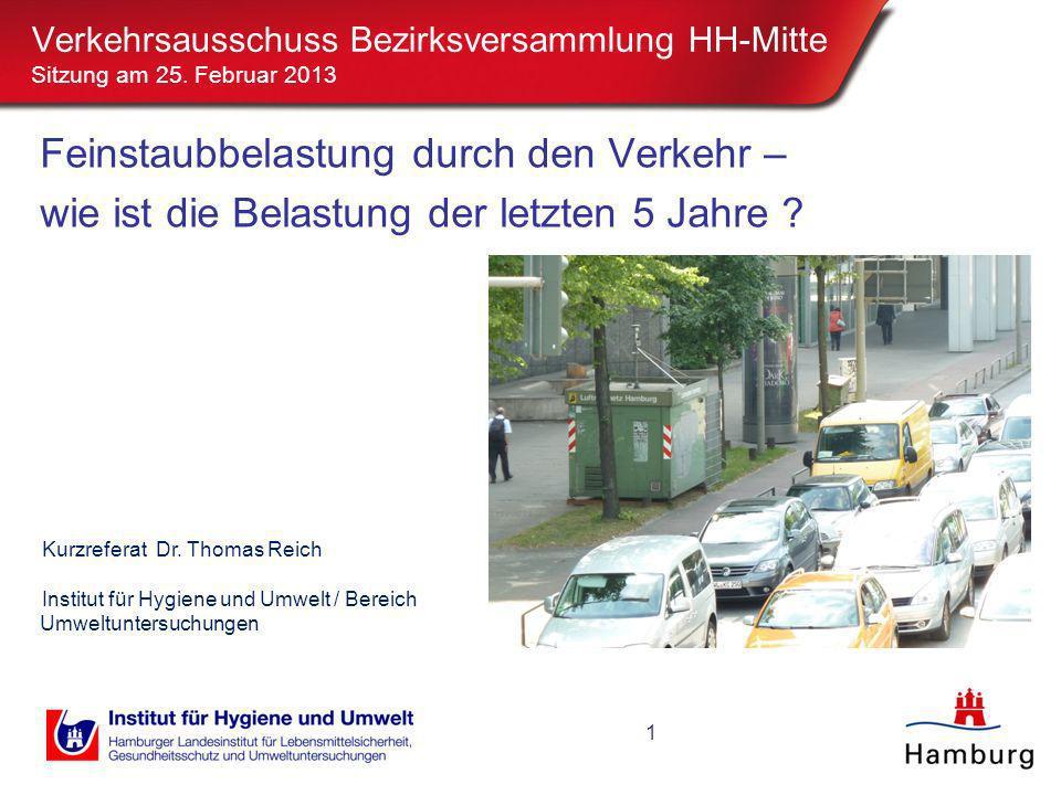 Verkehrsausschuss Bezirksversammlung HH-Mitte Sitzung am 25
