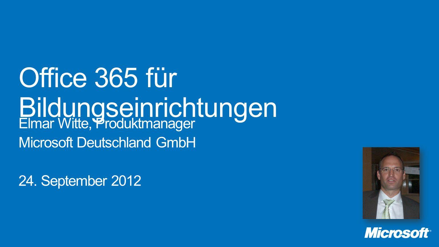 Office 365 für Bildungseinrichtungen