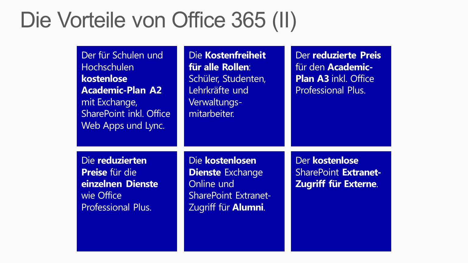 Die Vorteile von Office 365 (II)