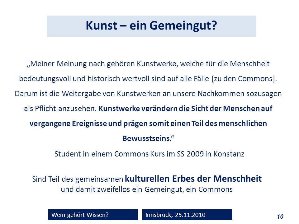 Student in einem Commons Kurs im SS 2009 in Konstanz