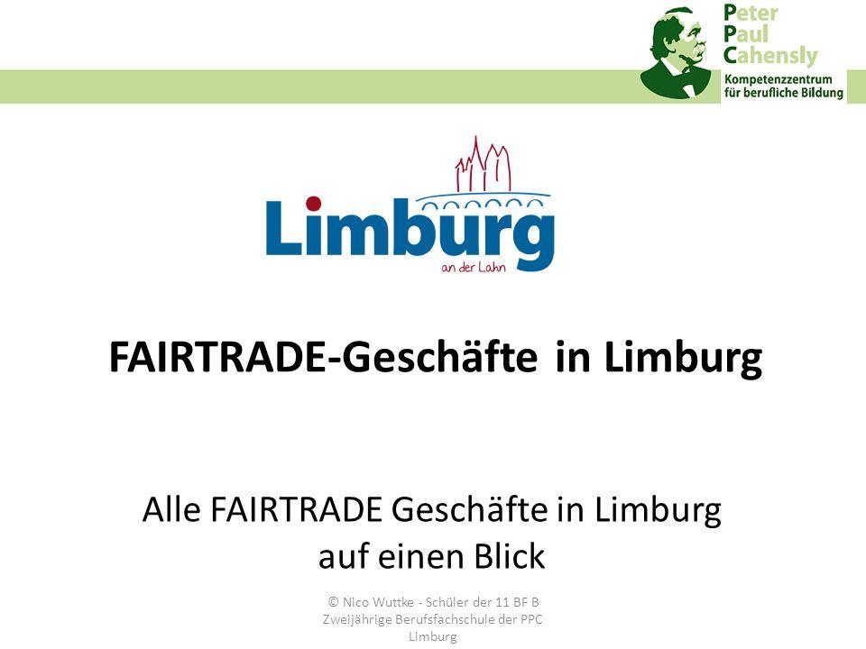 FAIRTRADE-Geschäfte in Limburg