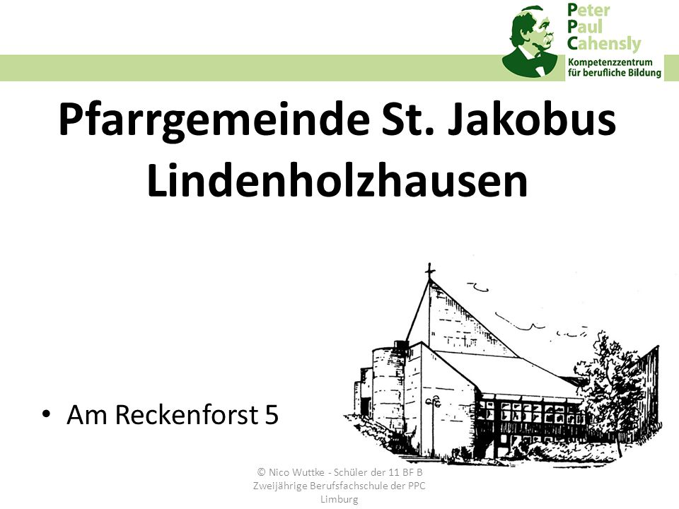 Pfarrgemeinde St. Jakobus Lindenholzhausen