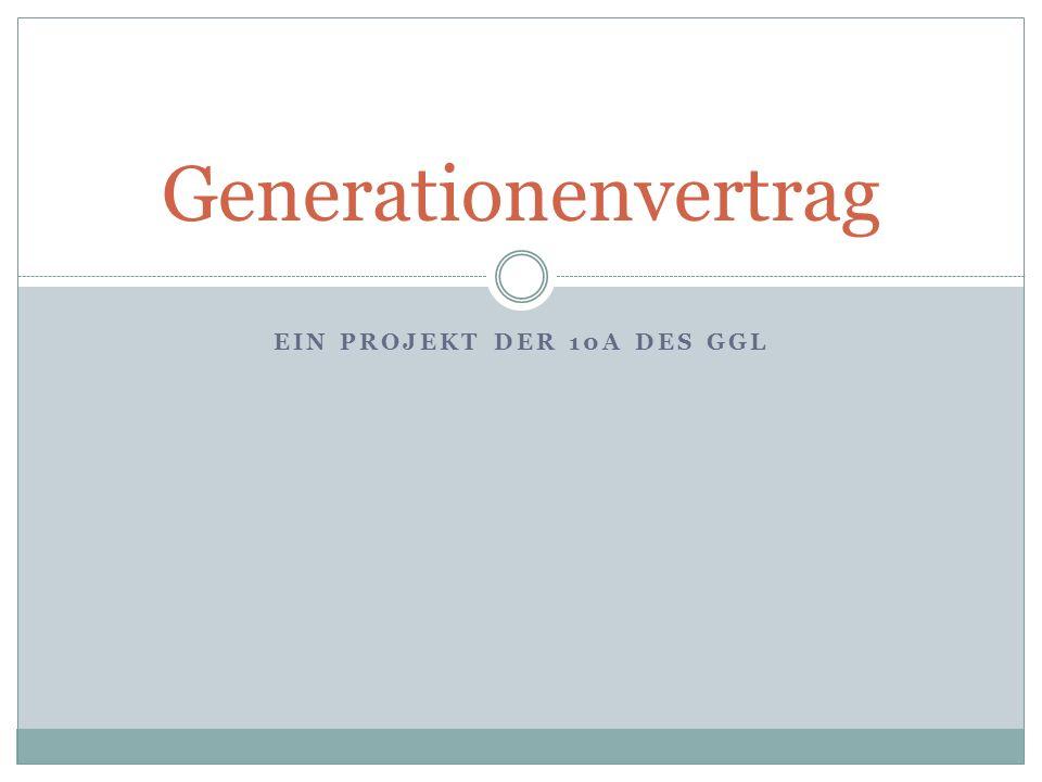 Ein Projekt der 10a des GGL