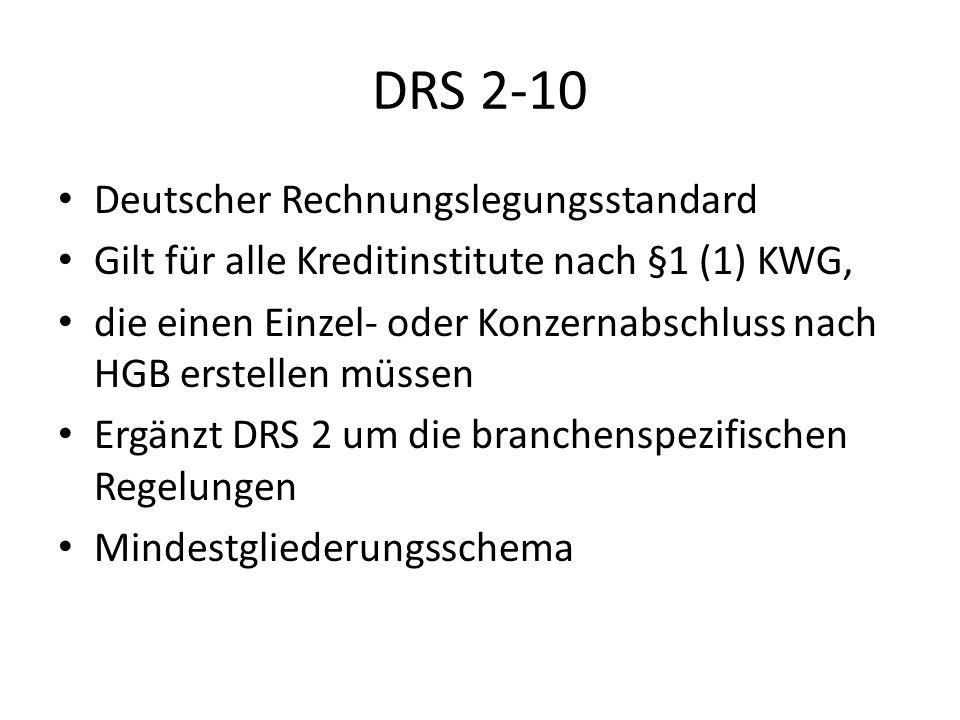 DRS 2-10 Deutscher Rechnungslegungsstandard