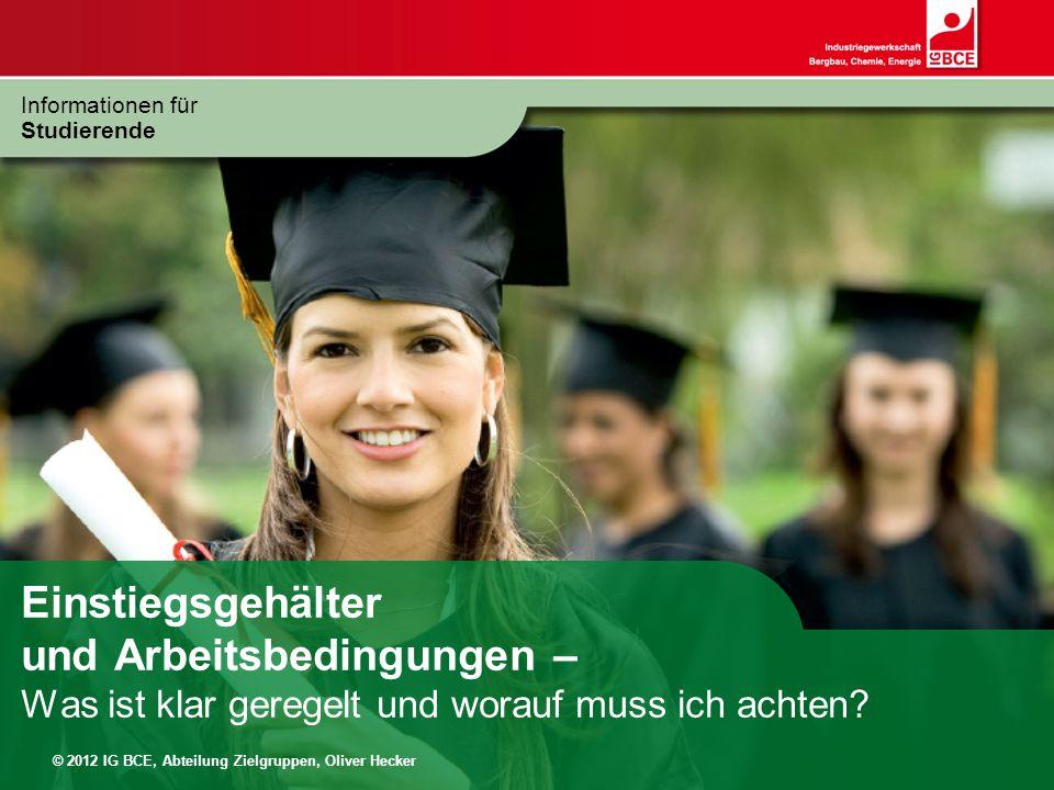 Informationen für Studierende