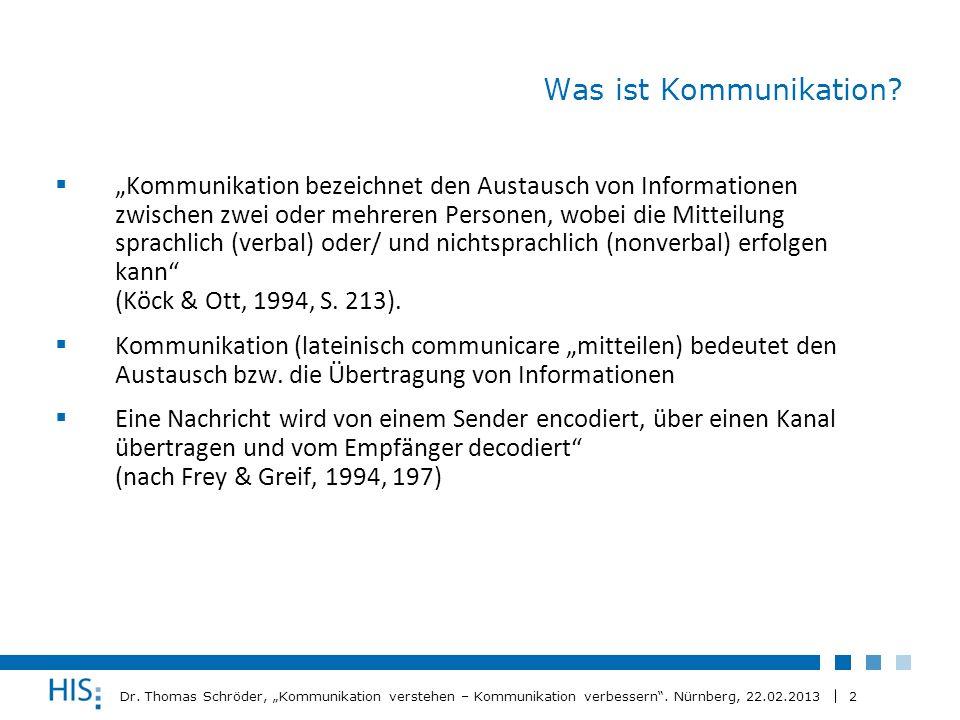 Was ist Kommunikation