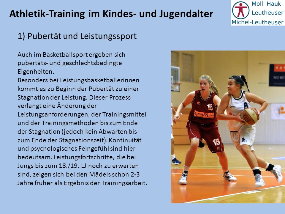 Athletik-Training im Kindes- und Jugendalter