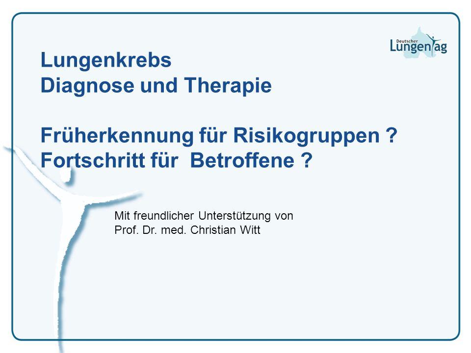 Mit freundlicher Unterstützung von Prof. Dr. med. Christian Witt