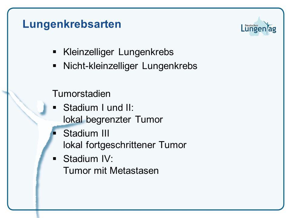 Lungenkrebsarten Kleinzelliger Lungenkrebs