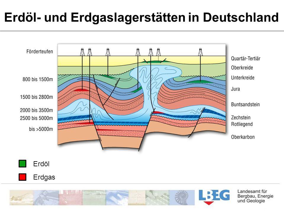 Erdöl- und Erdgaslagerstätten in Deutschland