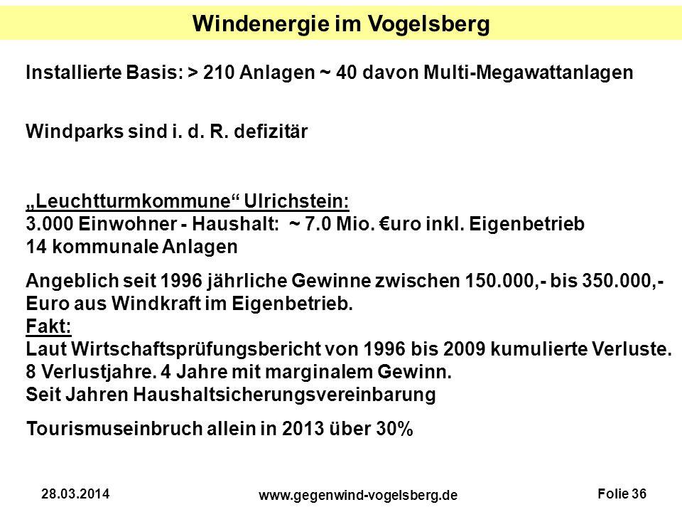 Windenergie im Vogelsberg