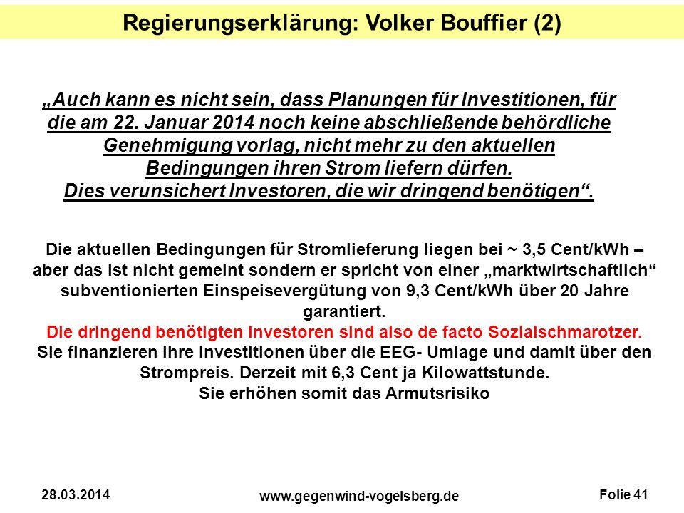 Regierungserklärung: Volker Bouffier (2)