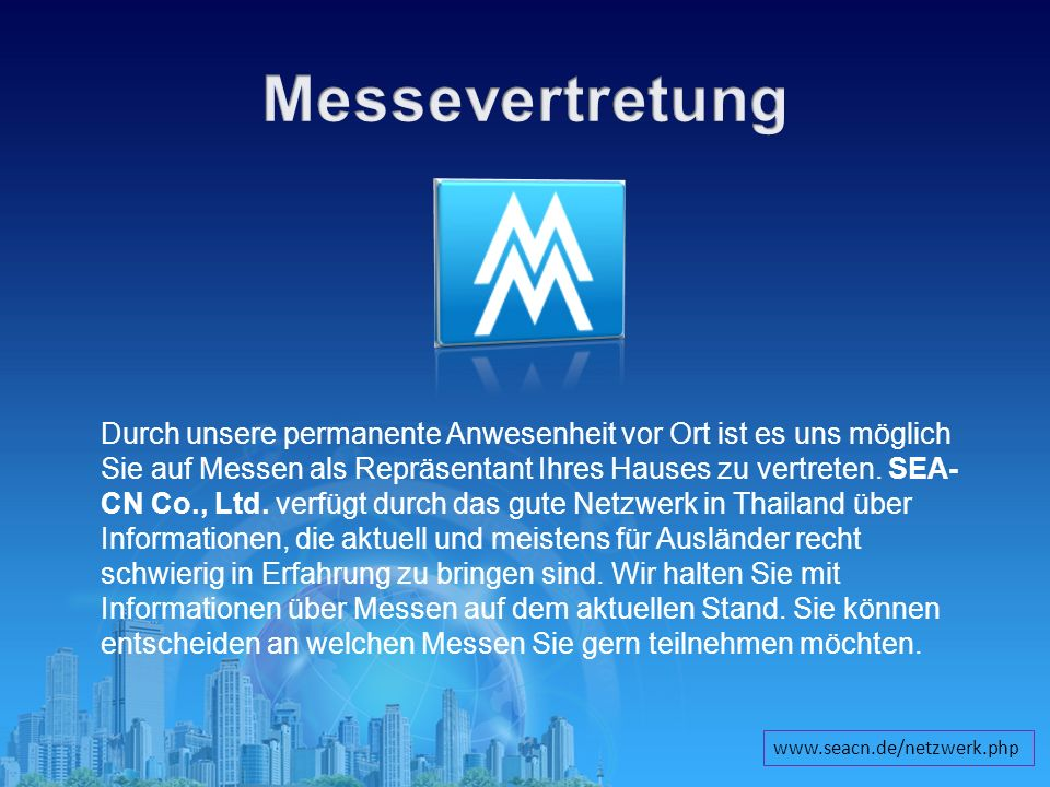 Messevertretung