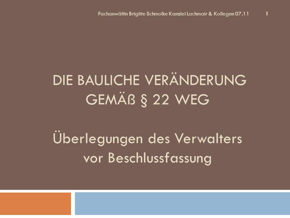 PantaeniusFachanwältin Brigitte Schmolke Kanzlei Lachmair & Kollegen 07.11.