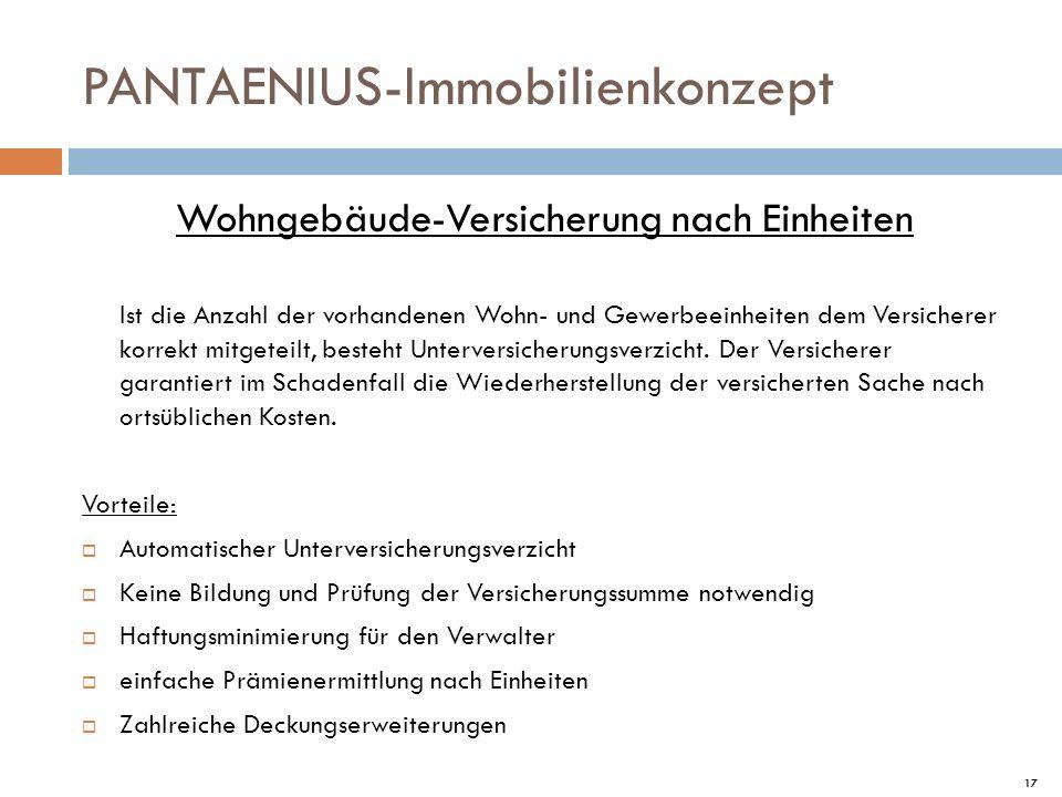 PANTAENIUS-Immobilienkonzept