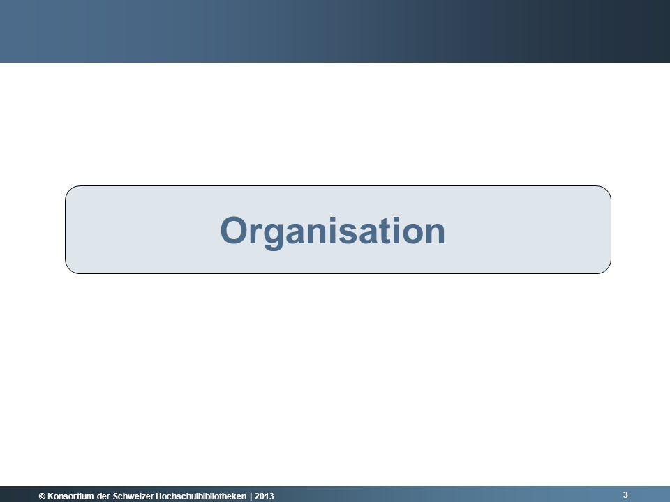 Rückblick Organisation