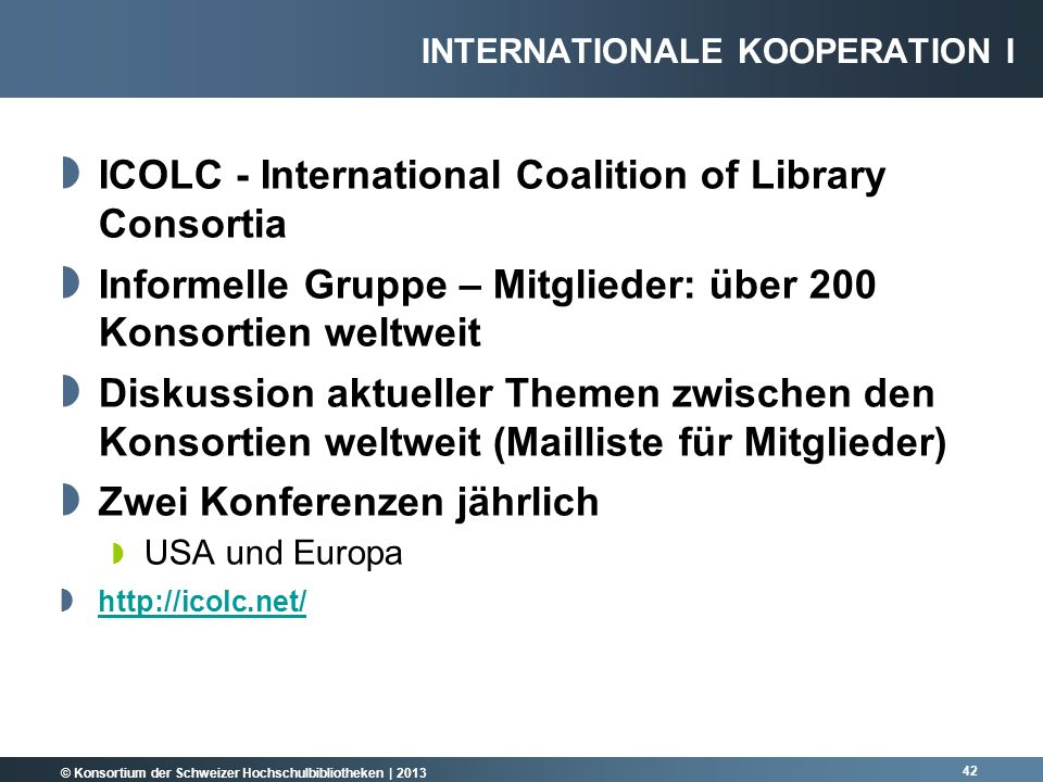 ICOLC - International Coalition of Library Consortia