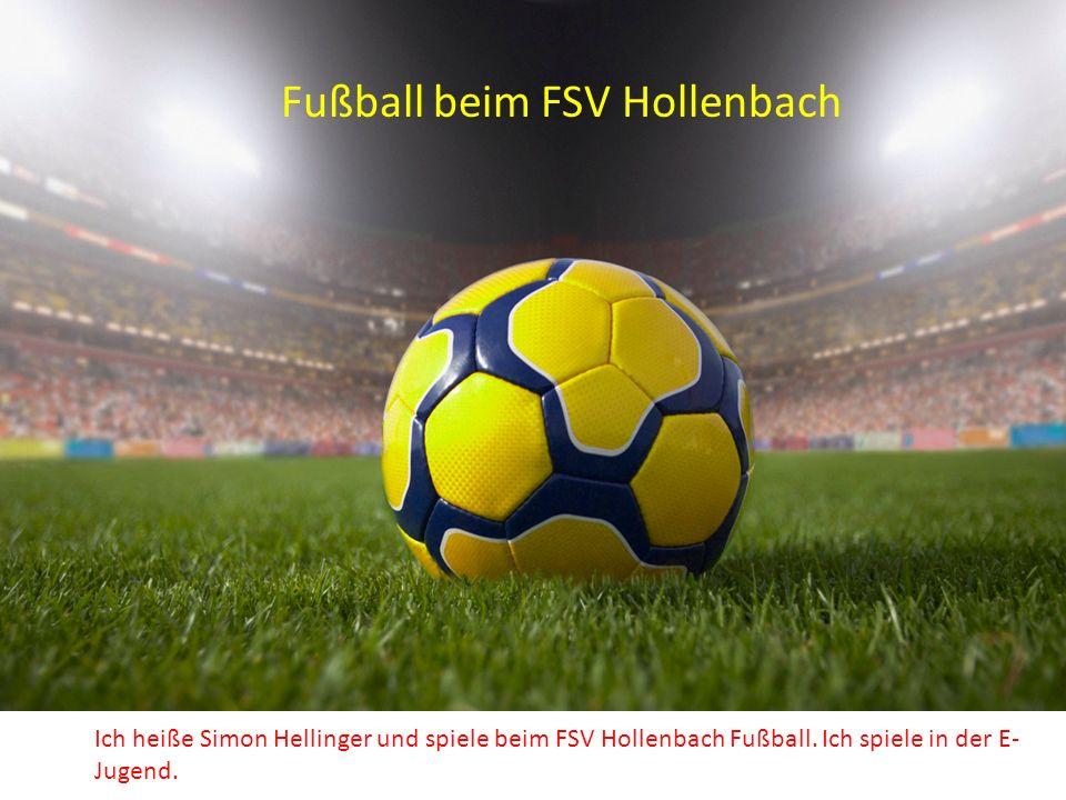 Fußball beim FSV Hollenbach