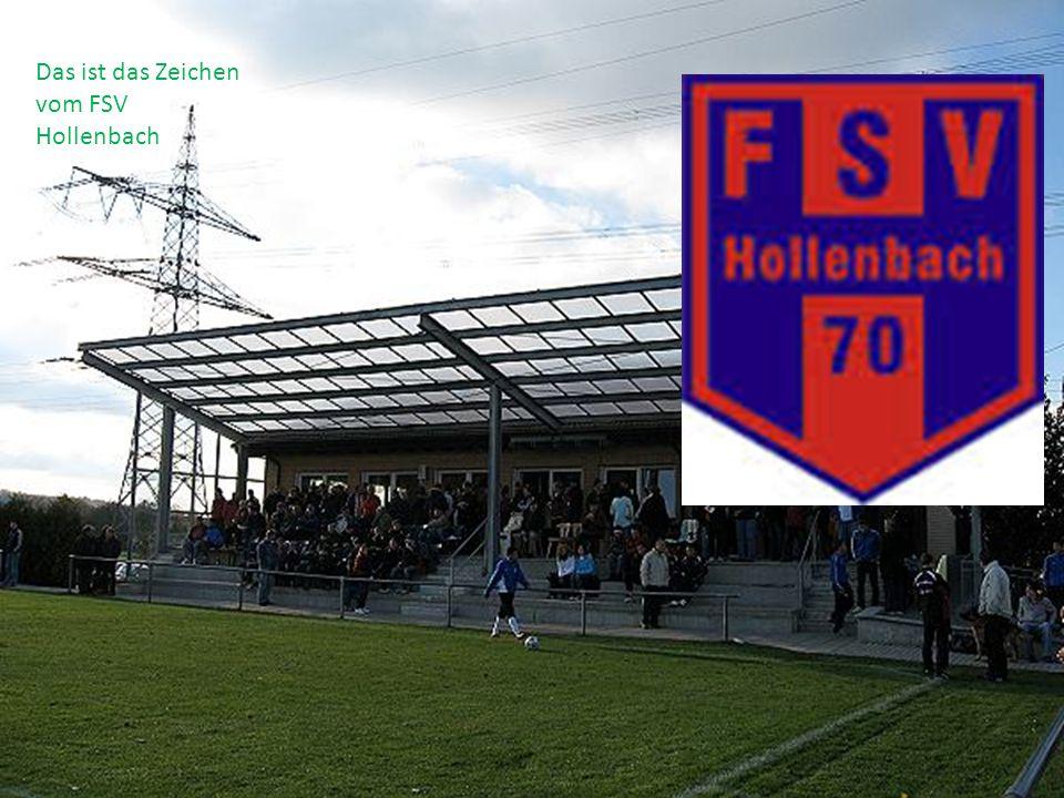 Das ist das Zeichen vom FSV Hollenbach