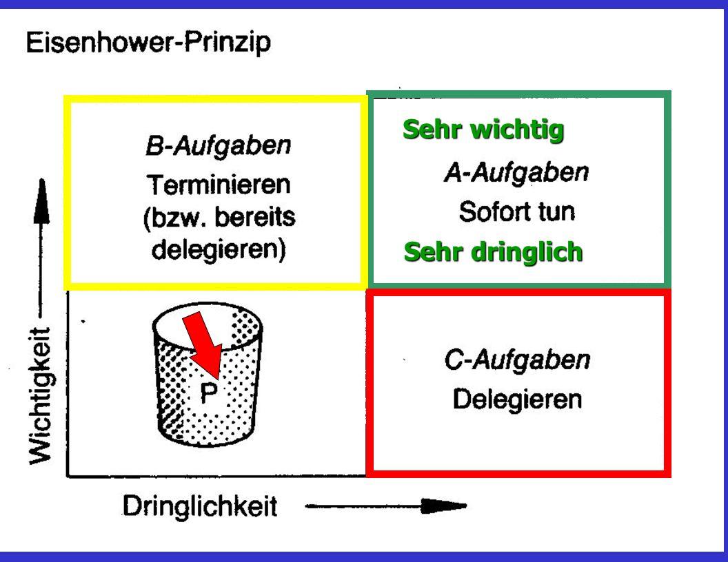 Das Eisenhower-Prinzip
