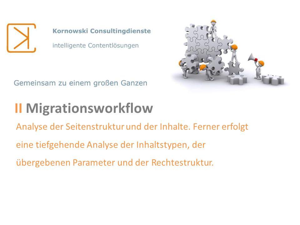 II Migrationsworkflow