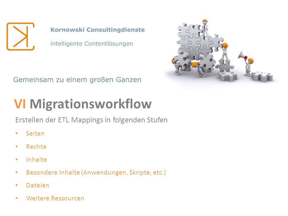 VI Migrationsworkflow