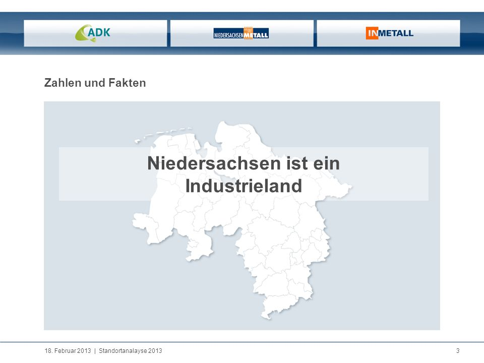 Niedersachsen ist ein Industrieland